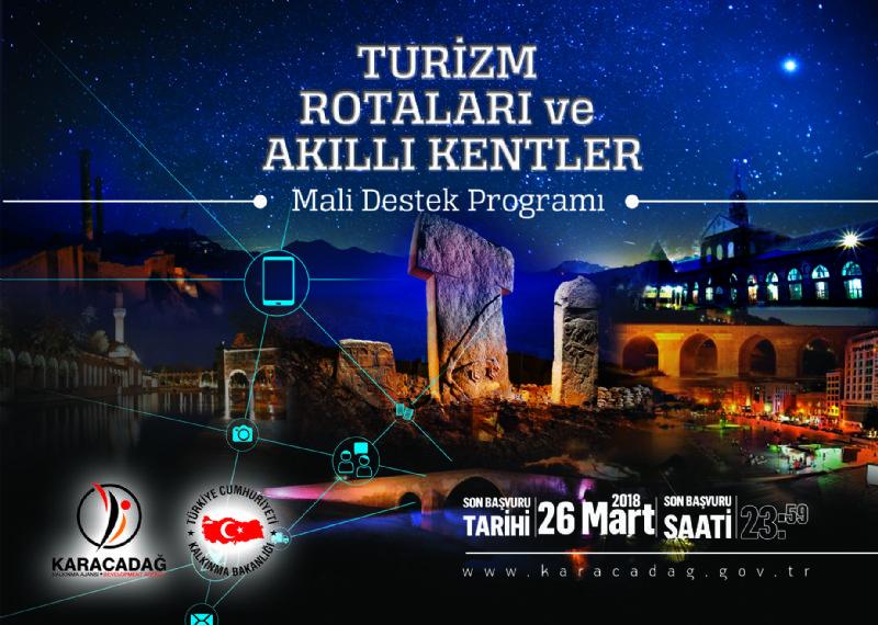 Turizm Rotaları ve Akıllı Kentler Mali Destek Programı