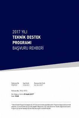 2017 Yılı Teknik Destek Programı