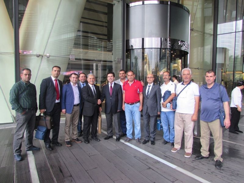 Diyarbakir And Sanliurfa Organized Industrial Zone Management Board Members Held A Visit To China And Hong Kong.